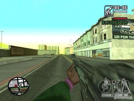 Primeira pessoa (primeira pessoa mod) para GTA San Andreas sétima tela