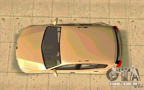 BMW 118i para GTA San Andreas vista direita