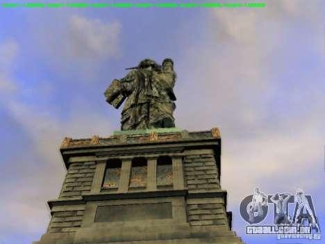 Estátua da liberdade 2013 para GTA San Andreas sétima tela