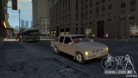 Nissan Pick-Up 1997 para GTA 4 esquerda vista