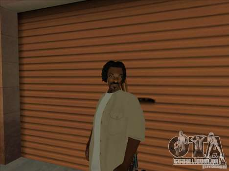 Snoop Dogg Ped para GTA San Andreas
