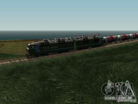 Vl80s-2532 para GTA San Andreas vista traseira