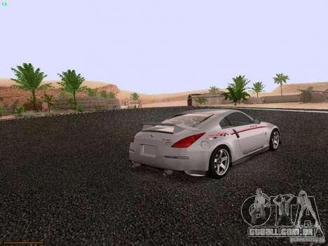 Nissan 350Z Nismo S-Tune para GTA San Andreas vista direita