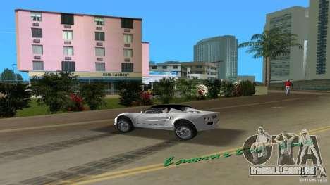 Lotus Elise para GTA Vice City vista traseira esquerda