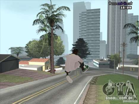 Pele nova Suite para GTA San Andreas terceira tela