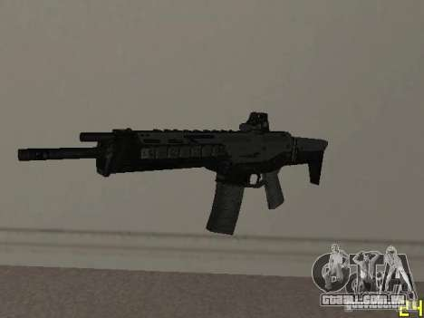Armas do COD MW 2 para GTA San Andreas por diante tela
