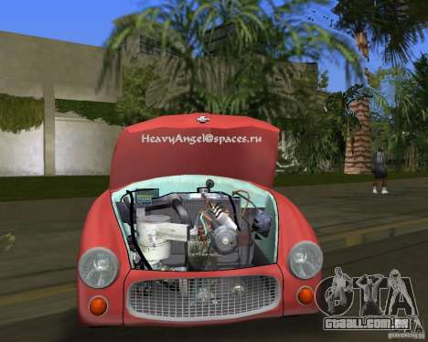 FSO Syrena para GTA Vice City vista direita