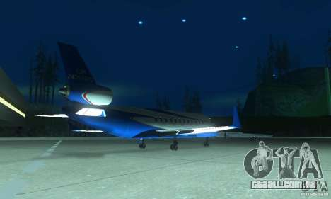 Blue Ghawar para GTA San Andreas esquerda vista