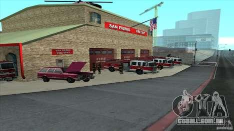 O fogo animado o SF v 3.0 Final para GTA San Andreas