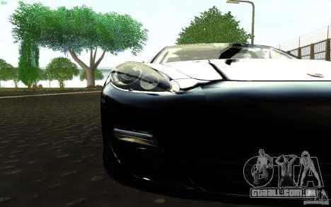 Porsche Panamera Turbo para GTA San Andreas vista direita