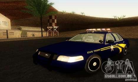 Ford Crown Victoria Orgeon Police para GTA San Andreas