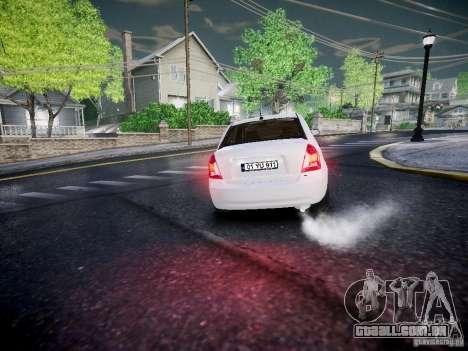 Hyundai Accent Era para GTA 4 vista de volta