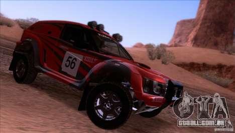 Range Rover Bowler Nemesis para GTA San Andreas vista direita