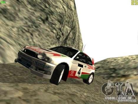 Toyota Corolla 1999 Rally Champion para GTA San Andreas