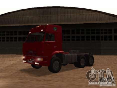 KAMAZ 6460 para GTA San Andreas vista traseira