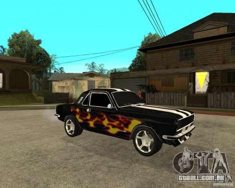 GAZ 2410 Camaro edição para GTA San Andreas vista direita