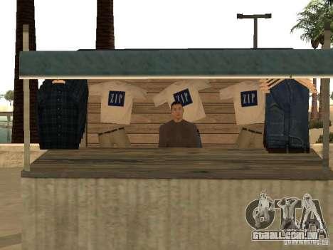 Mercado na praia para GTA San Andreas décima primeira imagem de tela