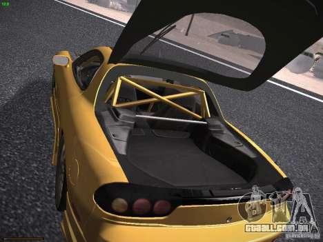 Mazda RX-7 FD3S C-West Custom para vista lateral GTA San Andreas