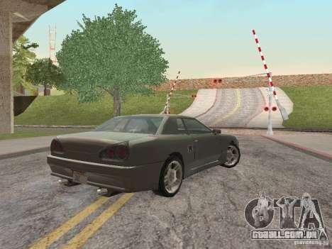 LowEND PCs ENB Config para GTA San Andreas quinto tela