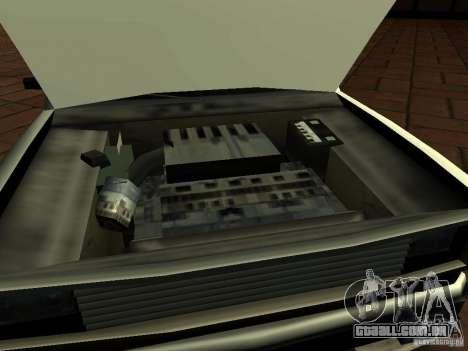 New Tuned Bobcat para GTA San Andreas vista direita