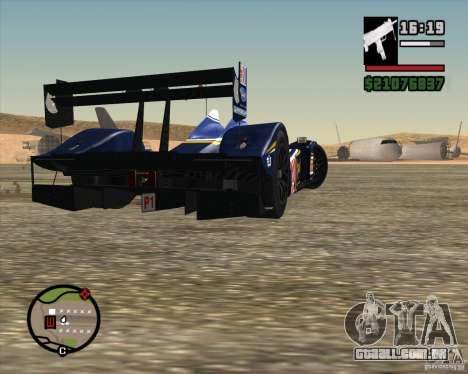 Acura ARX LMP1 para vista lateral GTA San Andreas