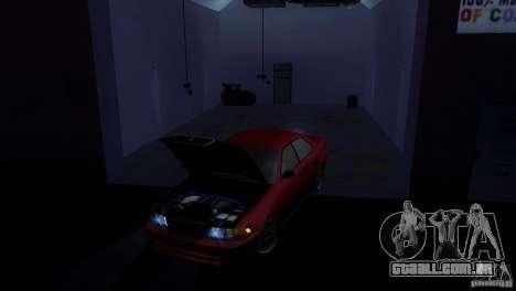 Toyota Mark II 100 para GTA San Andreas traseira esquerda vista