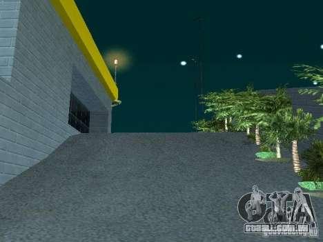 Novo showroom em San Fierro para GTA San Andreas quinto tela
