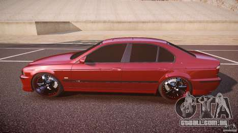 BMW M5 E39 Hamann [Beta] para GTA 4 esquerda vista
