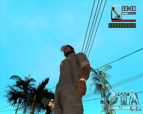 Foguete m-24 para GTA San Andreas segunda tela