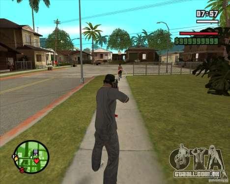GTA IV Target v.1.0 para GTA San Andreas quinto tela