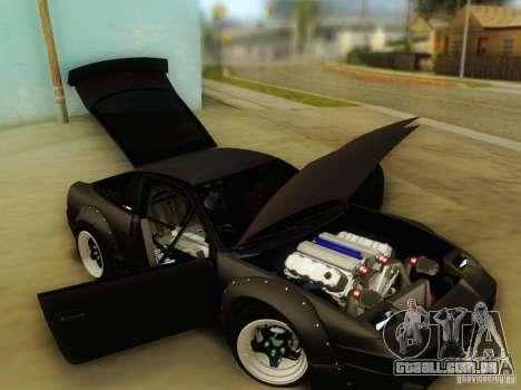 Nissan 240SX Rocket Bunny para GTA San Andreas vista traseira