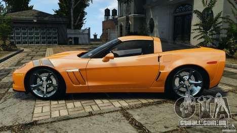 Chevrolet Corvette C6 Grand Sport 2010 para GTA 4 esquerda vista
