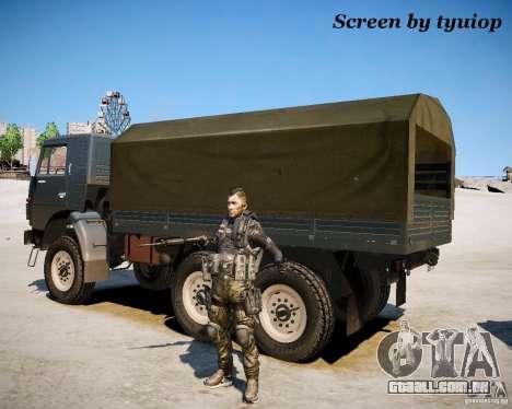 Modern Warfare 2 Soap para GTA 4 segundo screenshot
