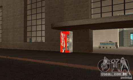 Cola Automat 3 para GTA San Andreas segunda tela