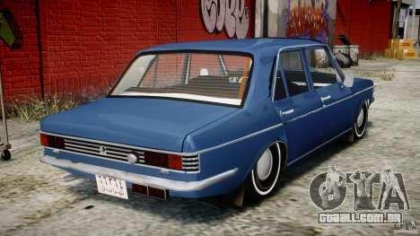 Peykan 1348 1970 para GTA 4 vista direita