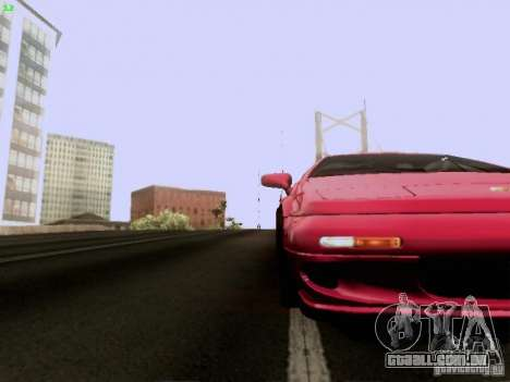 Lotus Esprit V8 para GTA San Andreas vista superior