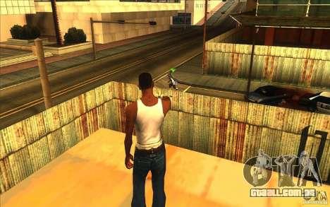 Grande visão para GTA San Andreas segunda tela