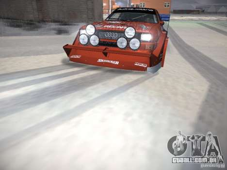 Audi Quattro Pikes Peak para o motor de GTA San Andreas