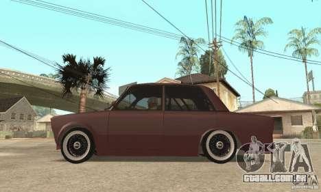 Estilo de rua VAZ 2106 para GTA San Andreas vista direita