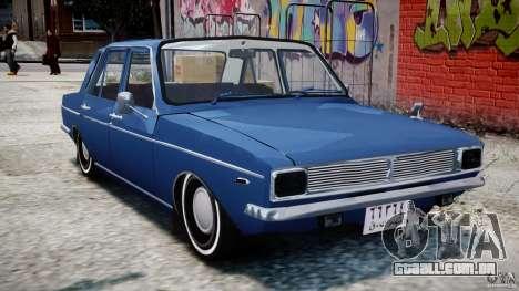 Peykan 1348 1970 para GTA 4 esquerda vista