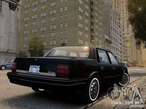 Oldsmobile Cutlass Ciera 1993 para GTA 4 esquerda vista