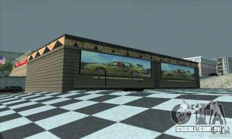 A garagem atualizada CJ em SF para GTA San Andreas