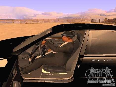 BMW M5 E39 Stanced para GTA San Andreas vista superior