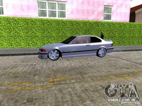 BMW M3 E36 Light Tuning para GTA San Andreas vista traseira