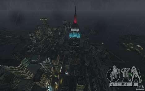 Telas de menu e inicialização de Liberty City em para GTA San Andreas sétima tela