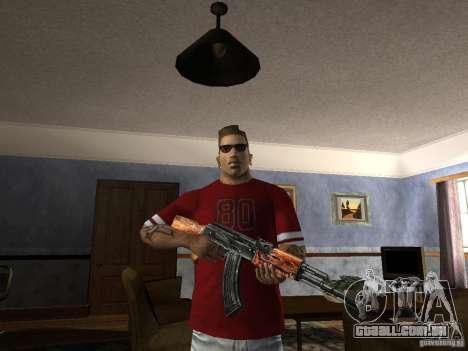AK HD para GTA San Andreas