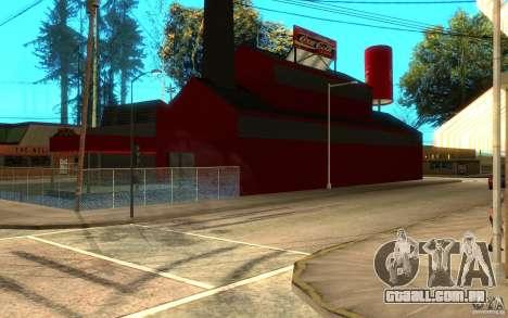 Fábrica de Coca-Cola para GTA San Andreas segunda tela