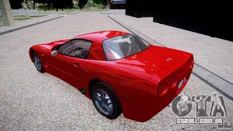 Chevrolet Corvette C5 v.1.0 EPM para GTA 4 esquerda vista