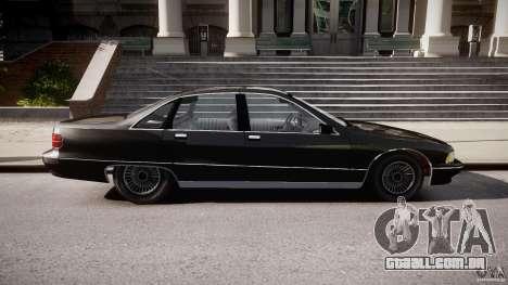Chevrolet Caprice FBI v.1.0 [ELS] para GTA 4 esquerda vista