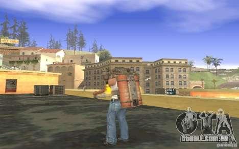 Jetpack no estilo da URSS para GTA San Andreas sétima tela